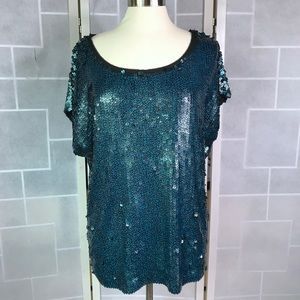 💥 Tory Burch sequined top L